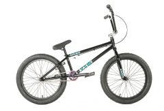 Academy Entrant BMX Bike Gloss Black/Rainbow (2020)