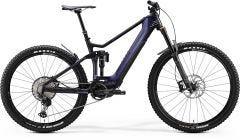 Merida eOne Sixty 8000 Electric Mountain Bike Glossy Purple Rainbow/Matt Black (2020)