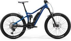 Merida eOne Sixty 800SE Glossy Medium Blue Matt Black (2020)