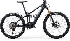 Merida eOne Sixty 9000 Electric Mountain Bike Glossy Dark Grey/Matt Black (2020)