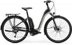 Merida eSpresso City 200 EQ Electric Hybrid Bike Matt Black/Titan Glossy/Dark Silver (2020)