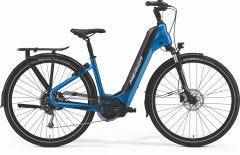 Merida eSpresso City 400 EQ Electric Hybrid Bike Silk Blue/Black (2021)