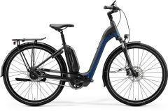 Merida eSpresso CIty 700 EQ Electric Hybrid Bike Matt Black/Blue (2020)