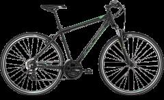 Kross Evado 2.0 700c Hybrid Bike Black/Green (2020)