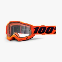 Goggles 100% Accuri 2 Enduro Orange Clear Vented Dual Lens