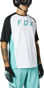 FOX Defend Short Sleeve Jersey Teal
