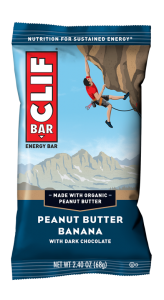 Clif Energy Bar Peanut Butter Banana with Dark Chocolate
