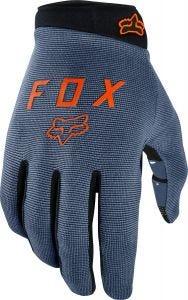 FOX Ranger Youth Full Finger Gloves Blue Steel