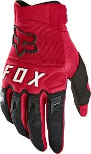 FOX Dirtpaw Full Finger Gloves Flame Red