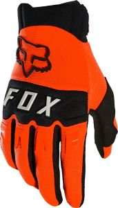 FOX Dirtpaw Full Finger Gloves Fluro Orange