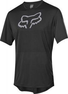 FOX Foxhead Short Sleeve Jersey Black