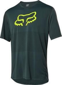 FOX Foxhead Short Sleeeve Jersey Emerald