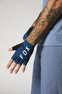 FOX Ranger Gel Short Finger Gloves Matte Blue