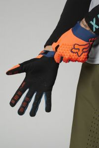 FOX Defend Full Finger Youth Gloves Atomic Punch