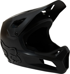 FOX Rampage Fullface Youth Helmet Black/Black