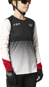 FOX Flexair Long Sleeve Women's Jersey Black/Pink