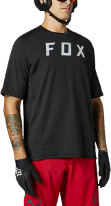 FOX Defend Short Sleeve Jersey Black