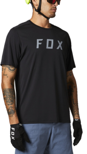 FOX Ranger Short Sleeve Jersey Black