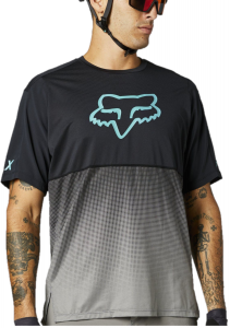 FOX Flexair Short Sleeve Jersey Teal