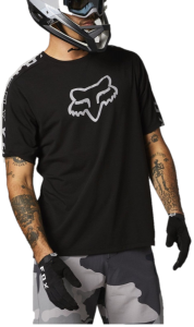 FOX Ranger DR Short Sleeve Jersey Black