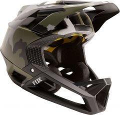 FOX Proframe Fullface Helmet Green Camo