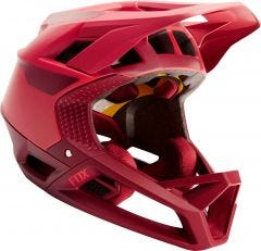 FOX Proframe Quo Fullface Helmet Bright Red