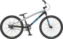 GT Speed Series Pro 24 Race BMX Bike Silver/Black Fade (2020)
