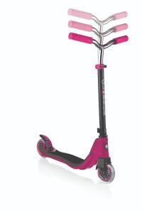 Scooter 2 Wheel Kids Globber Flow 125 Ruby Grey