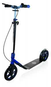 Globber One NL 230 Ultimate Scooter - Titanium/Slate Blue