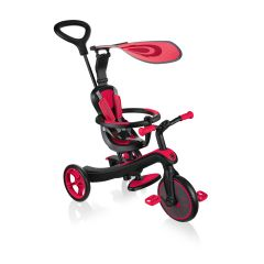 Globber Explorer 4in1 Trike Red