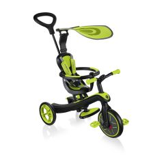Globber Explorer 4in1 Trike Lime Green