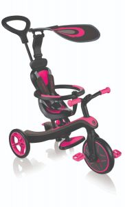 Trike Kids Globber Explorer 4in1 Pink