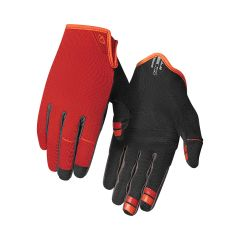 Giro DND Full Finger Gloves Red/Orange