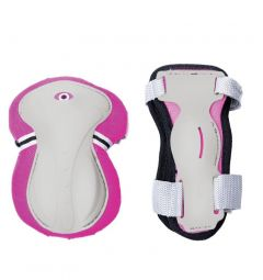 Globber Junior Protective Pad Set (Pink)
