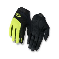 Giro Bravo Gel Full Finger Gloves Yellow