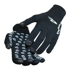 DeFeet Duraglove ET Full Finger Gloves Black w/White Grippies