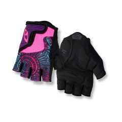 Giro Bravo Short Finger Youth Gloves Purple Blossom