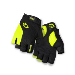 Giro Strade Dure Supergel Short Finger Gloves Yellow/Black
