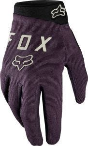 FOX Ranger Womens Full Finger Gloves Dark Purple