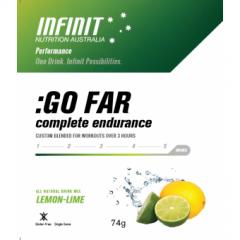 Infinit Nutrition Go Far Single Lemon Lime 61g
