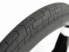 Colony Grip Lock BMX Tyre Black/Black Wall 110PSI 20 x 2.20