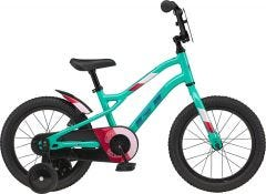 GT Siren 16 Girls Bike Gloss Pitch Green (2021)