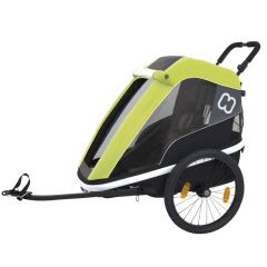 Hamax Avenida One Trailer For 1 Child Lime