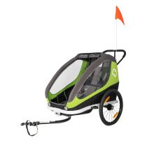 Hamax Traveller Trailer Green/Grey