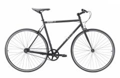 Reid Harrier 1.0 Flat Bar Road Bike Matt Black