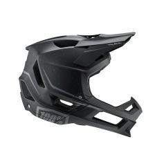 100% Trajecta Full Face Helmet Black