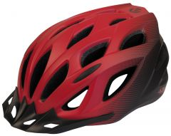 Azur L61 Helmet Satin Red/Black Fade