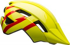 Bell Sidetrack II Kids Helmet Hi-Viz/Red