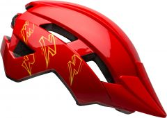 Bell Sidetrack II Kids Helmet Red Bolts