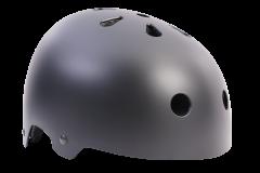 Family BMX Helmet Flat Black